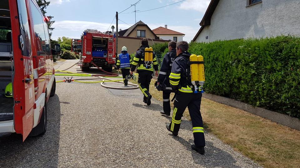 Wohnungsbrand in Fischamend