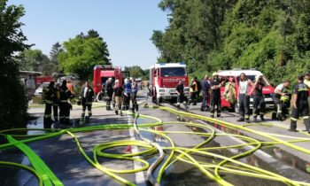 Containerbrand B3 Enzersdorf
