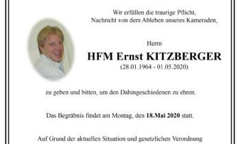HFM Ernst Kitzberger